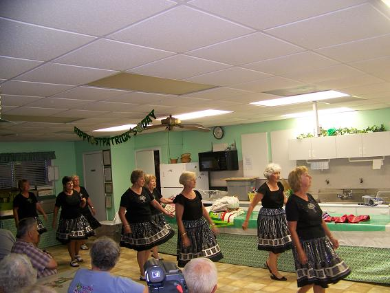 Picture of the Line Dancing